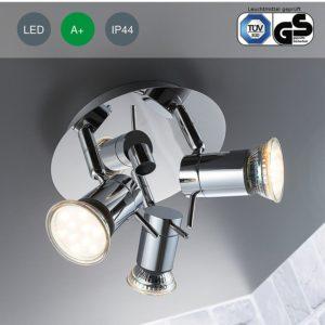 Deckenstrahler LED Badezimmer Bad Beleuchtung Strom sparen