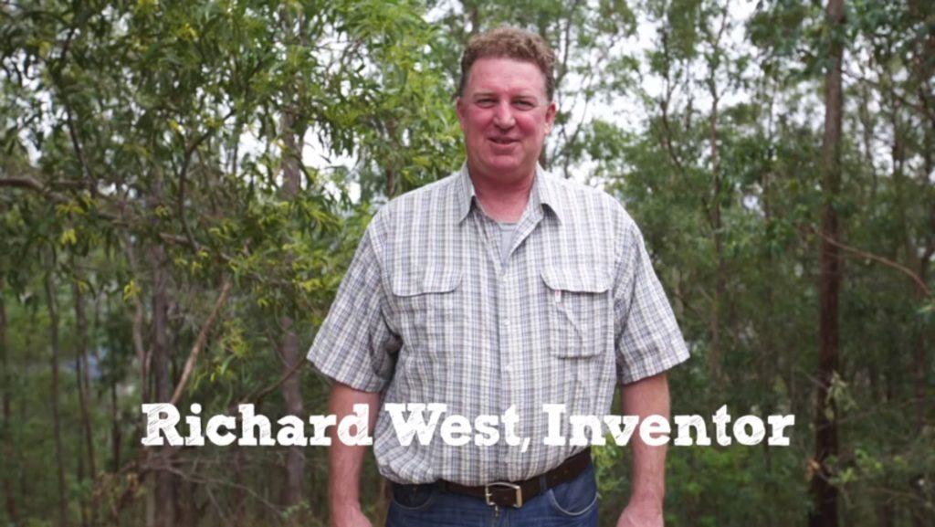 Der eShower Erfinder Richard West